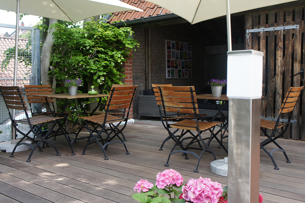 Chill out bereich 4 hotel 1690 for Hotel 1690 designhotel rendsburg